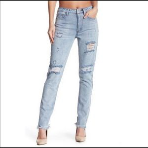 NWT Dance & Marvel Distressed Jeans